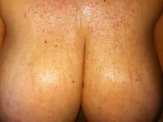 Cum soaked tits!