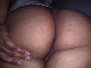 Fantastic sweet ass mmmmmmmmmmmm my tongue is wagging and cock raging hard!