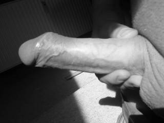 My hard cock, ready for some fun.