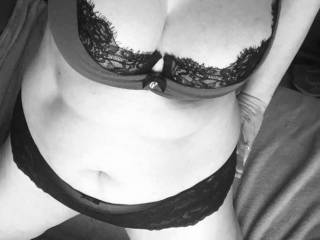 Love black and white 