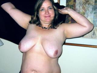 pretty lady you have some great tits!!!!!