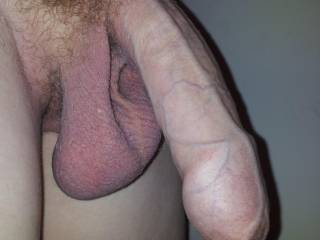 mmm i want to feel them big balls slap my chin as i fuck your cock with my mouth... then i want to feel them slap my ass as you fuck my pussy