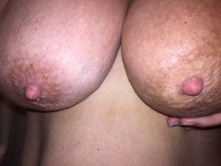 What,s missing< My cock between those big beautiful tits