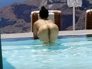 What\'s better than a view of Greece from your hotel room? A view of Greece AND a view of my juicy ass and tight wet pussy.. He came and stuck his BBC in me as soon as he saw the view. Can you blame him?