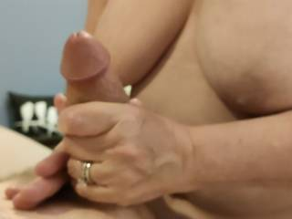 Taking care of cock in stressful times. Every woman needs to take care of her man\'s cock with her loving hands. My video will show you my massage techniques.