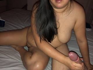 Loves to give a handjob too