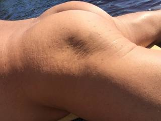 More of me from the summer nude and tanned outdoors.