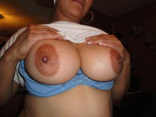 big brown nipples