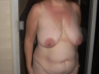 pretty nipples. love to cum all over them.