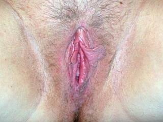 I would love to pound your wife's pussy and give her one of my huge loads of cum to drip out.