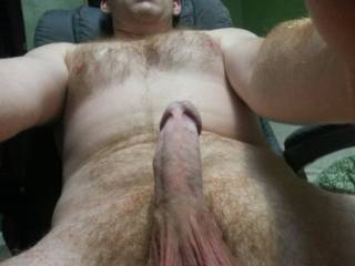 I'm wet and ready to slide down your hard pole! ;-)