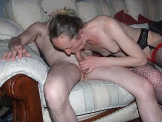 Joanne sucking on djdave's cock our zoig friend