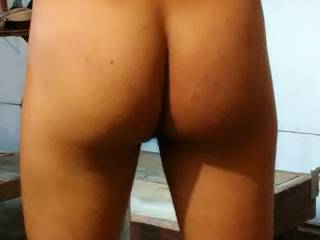 walking around completely naked, love showing off my butt. do you like it?