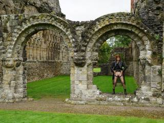 Showing myself off at the priory, what would the monks have thought?