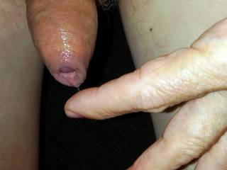 Creating much pre-cum from this long edging session.