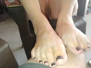 she wanted me to suck her toes.  Anyone want to help?