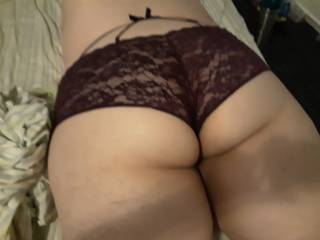 Sexy ass in panties