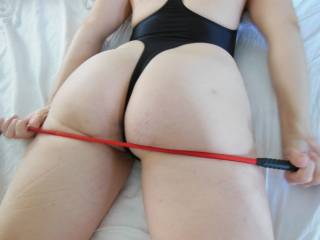 She loves when I spank her...  Who wants a few swings?