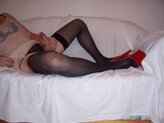 Bend me over,pull my panties to the side and fuck my ass hard.     Please.