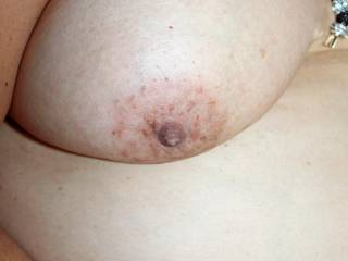 delicious nipple to suck and play with our tits,mrs paregrancan,babe