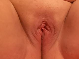 Just my swollen pussy