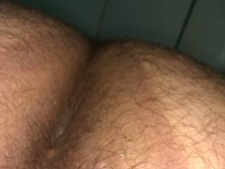 Very hairy and tight hole