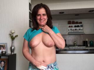 Pats flashing boobs