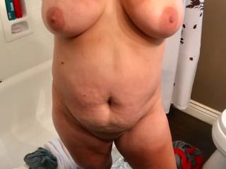 here\'s your target guy\'s....who want\'s to slide between these big tits