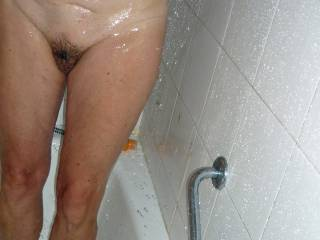 Wet Pussy out of the Bath
