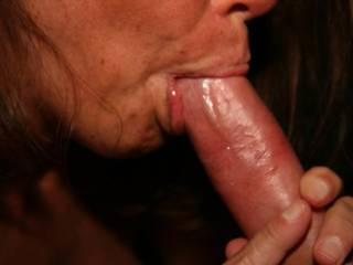 I wish that was me sucking your Gorgeous Cock ! ! !