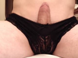 Mmmm, very sexy.. Love to suck you off wearing it. Then blow a nice cumload all over them..