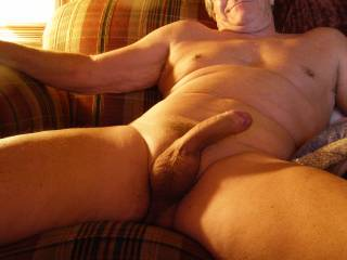 nice cock.i wish you were my grandfather and i caught you with your dick out and hard just like you are now. this might sound a little sick but i would take your gift in my mouth. you are a very sexy older gentleman.