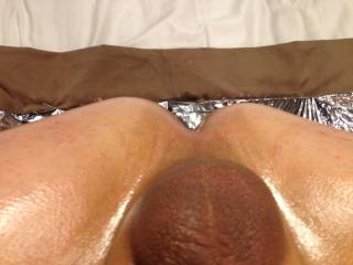 Mmmm. i would love to lick and suck your ass and balls