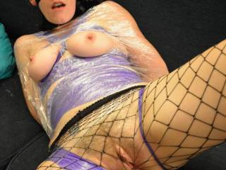 that is good. im nude stroking my cock to it. id eat her pussy while she was tied