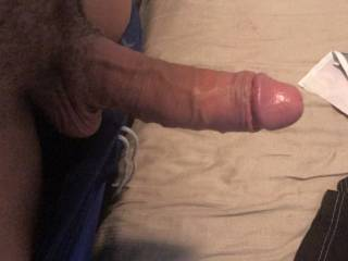 I took this pic for my ex.... she loves my cock and misses sucking and fucking it.... I miss her doing that as well