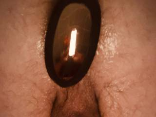 Working on getting real penetration from women or men  Would you like to lick or plug this? I want a pussy or cock in my mouth while I get pegged
