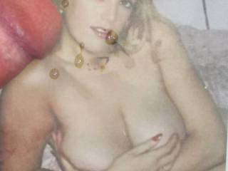 Nice tits, even on a younger version of U!