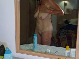 Mature wifes Pussy and Tits
