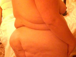 my husband doesn't have a big black cock, but he would love to fuck you, none the less.