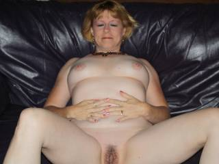 I can see you were reluctant at first to show face.  Lovely now you have. Very attractive.  You are a hot MILF