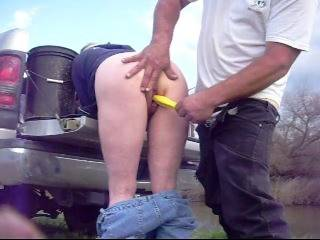 Fucking while fishing