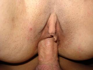 The thought of Licking that Wonderous Clit while you Pump her Pussy is overwhelming me! Thanks