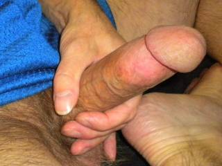 "So many of you with hot bodies I want to suck and fuck. This is what I""m doing while surfing your profiles and trading hot and dirty messages with all of you hot guys and gals. I love how much you all make me cum. I want to share this dick with all of you"