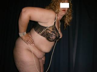 My sexy new black bra.