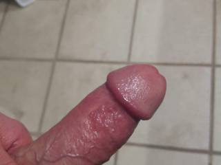 The hubby sent me some sexy pics while I was away... this is one of my favs!! One look at this and I was finger fucking my juicy wet pussy! Couldn't wait to get home and have my pussy filled with his thick throbbing cock! He knows just how Momma likes i