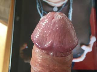 Picdetective makes my dick soo wet!! dripping lots of precum for u!!