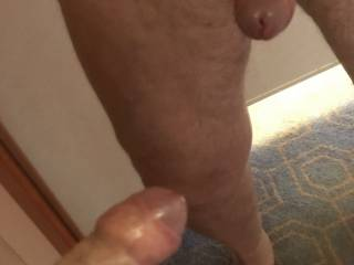 Thats a horny cock Im looking at