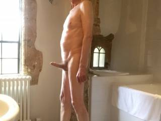 I think that \'He\' wants you to soap him up once we get in the shower.