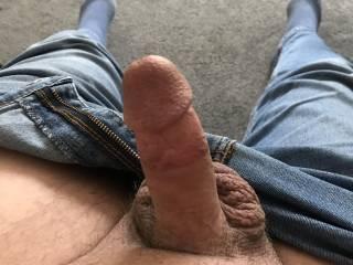 Hard ready to wank and cum