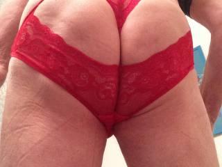 New red panties